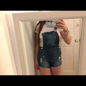H&M overall shorts NWT